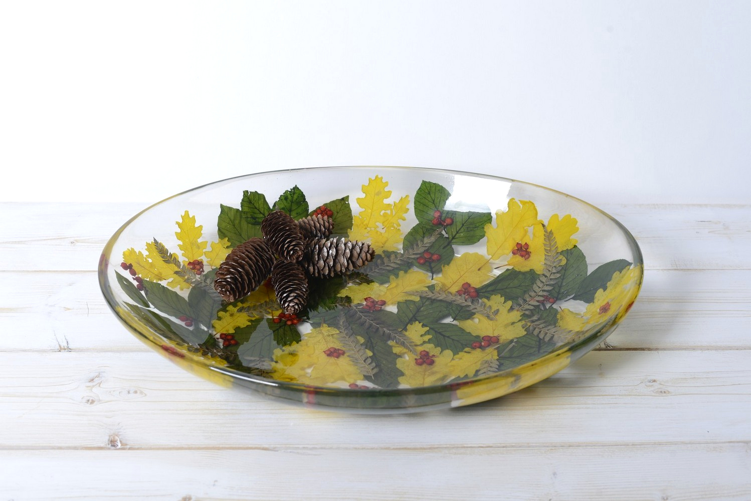 Oval Tray/Centerpiece Berries Collection cm 32x46 h7