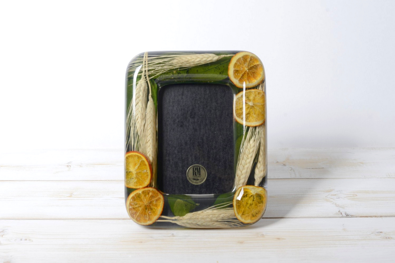 Rectangular Photo frame Wheat and Orange Collection cm 18x23