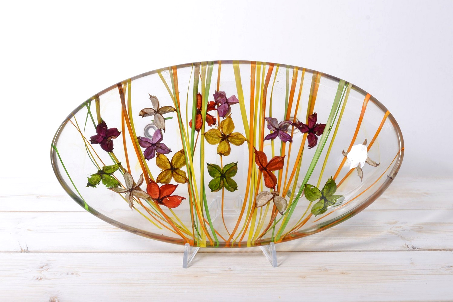 Oval Centerpiece Butterfly Collection