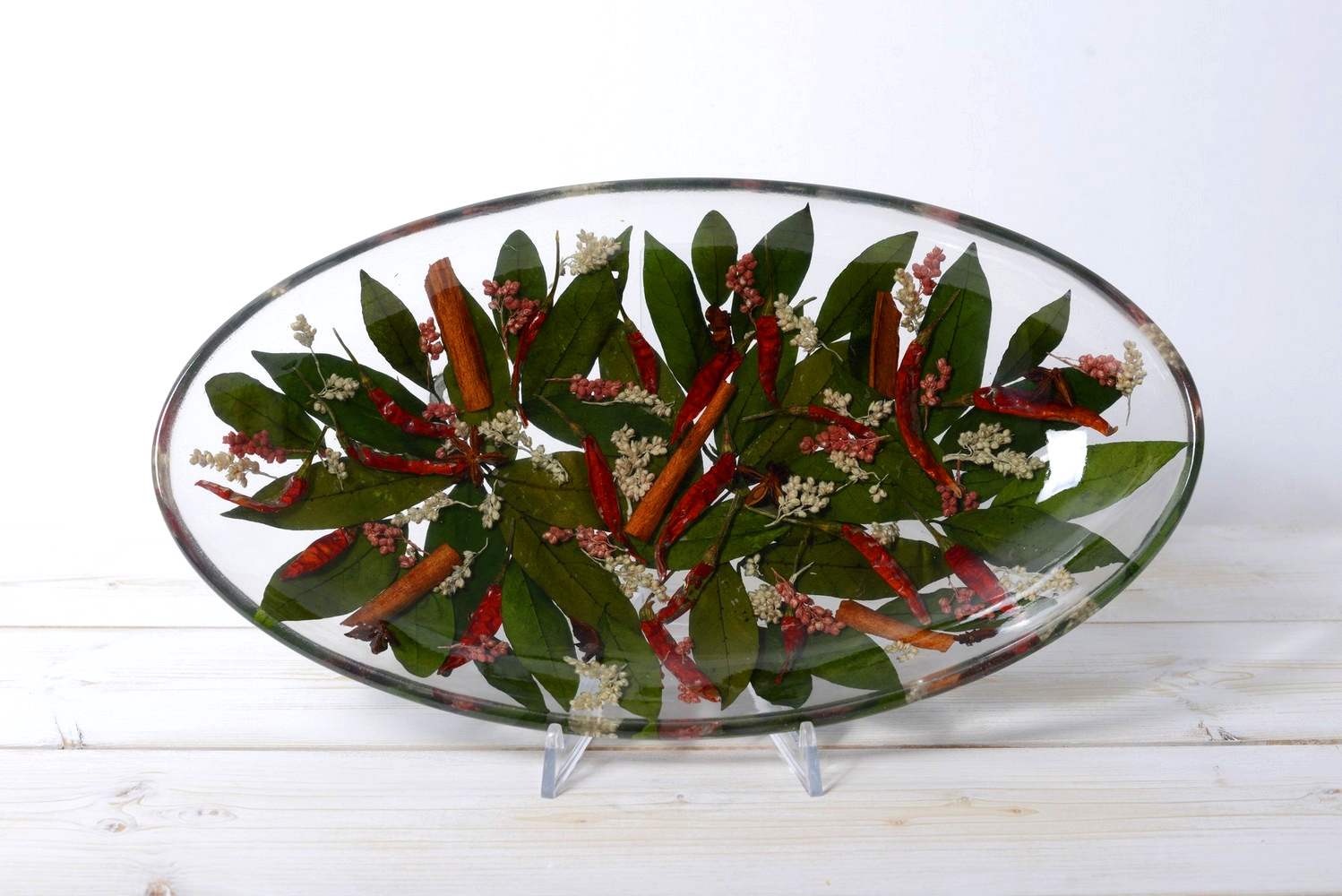 Oval Candy Bowl Chili Collection  cm 28x16 h4