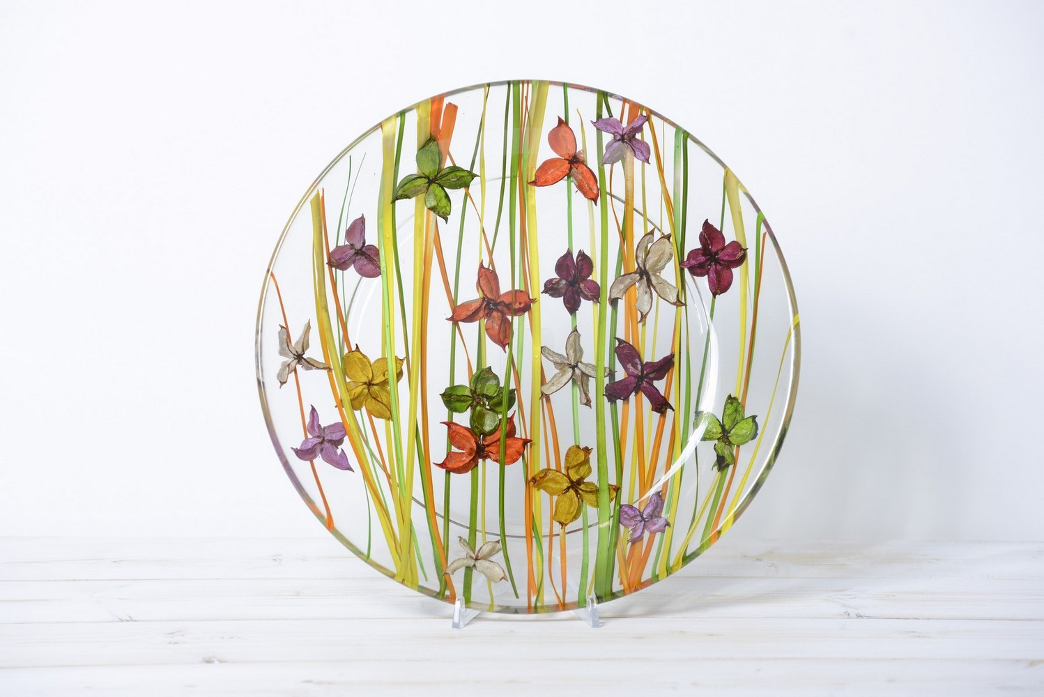 Round Centerpiece Butterfly Collection