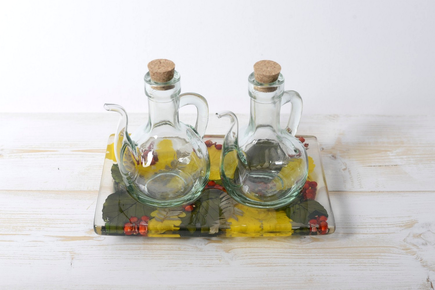 Oil/Vinegar Set Berries Collection cm 19x12