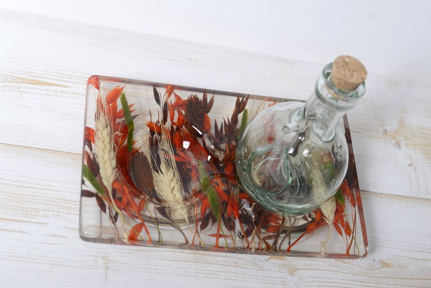 Oil/Vinegar Set Autumn Collection cm 19x12 h15