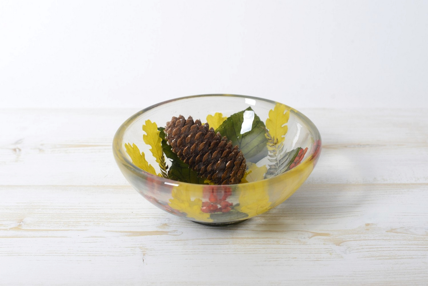 Small Round Bowl Berries Collection diam cm 14 h6