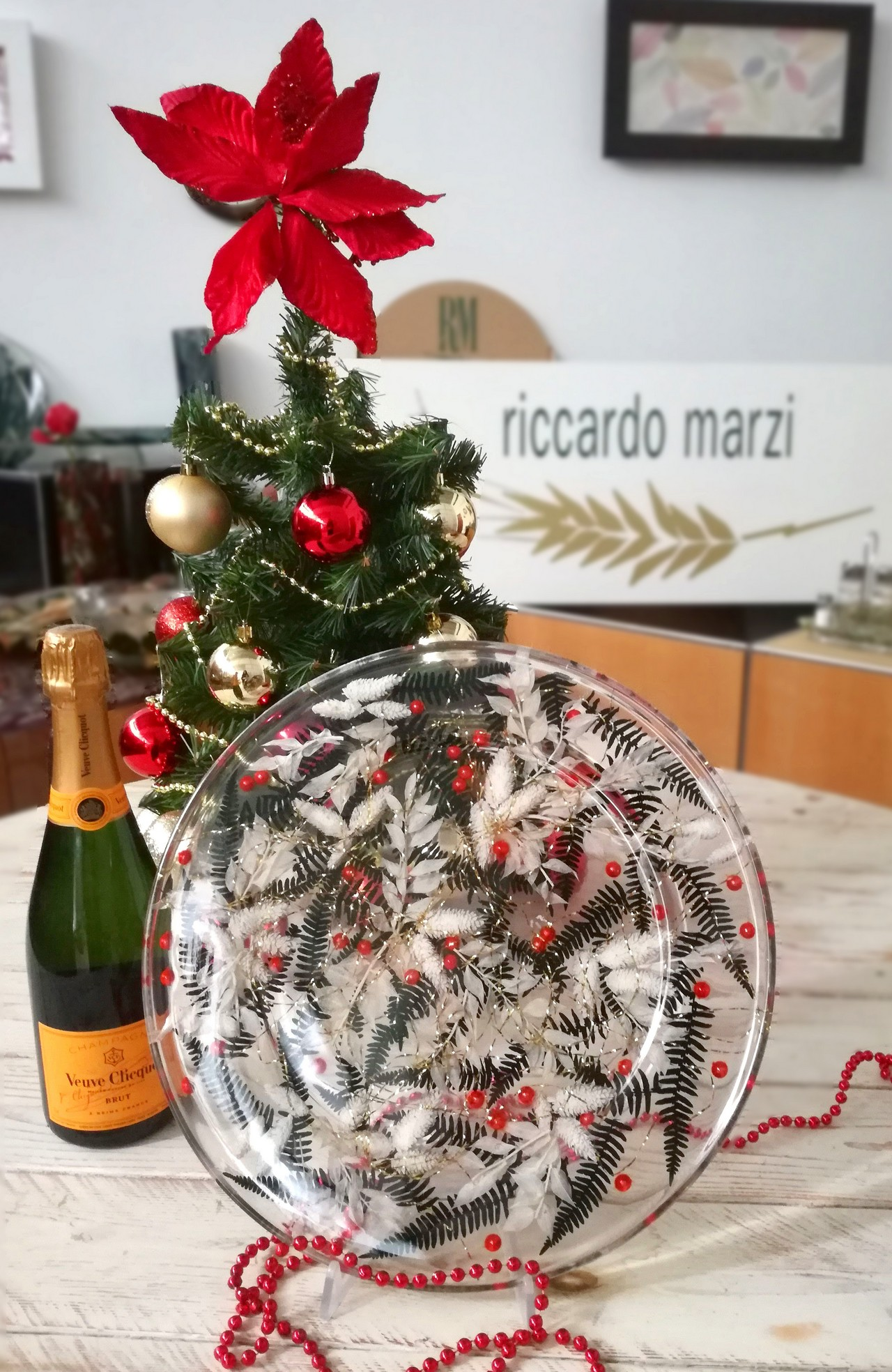 Round Centerpiece Christmas Collection cm 36