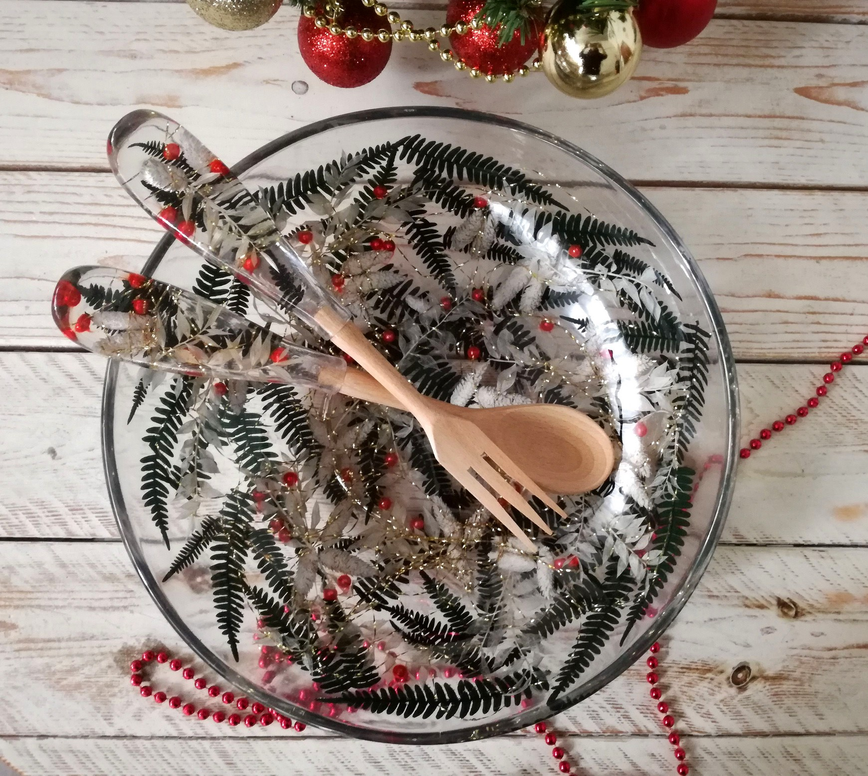 Round Bowl/Centerpiece Christmas Collection