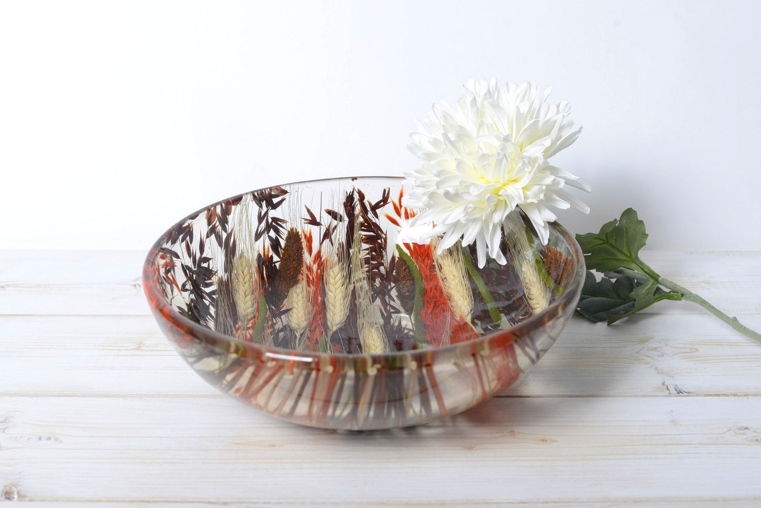 Round Bowl/Centerpiece Autumn Collection