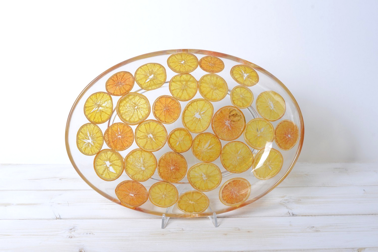 Oval Tray/Centerpiece Zagare Collection cm 32x46 h7