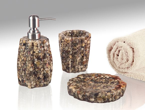 Bath accessories WAVE Livingstone Collection